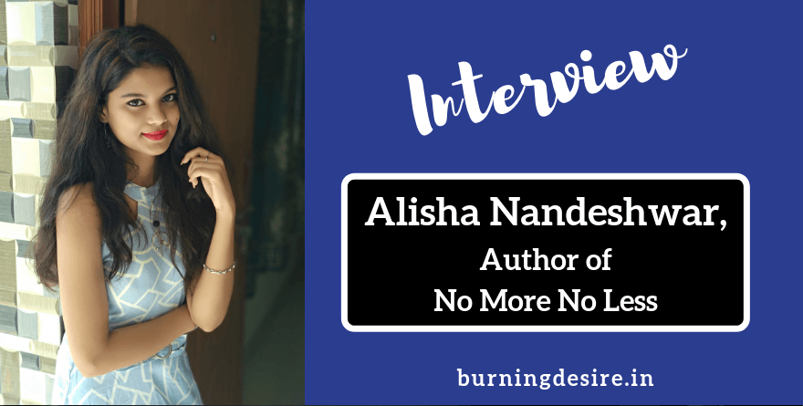 Author Alisha Nandeshware interview