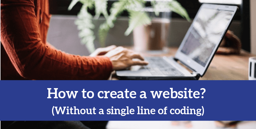 How to make a website on your own
