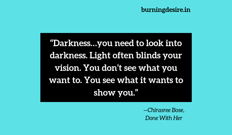 quotes by Chirasree Bose