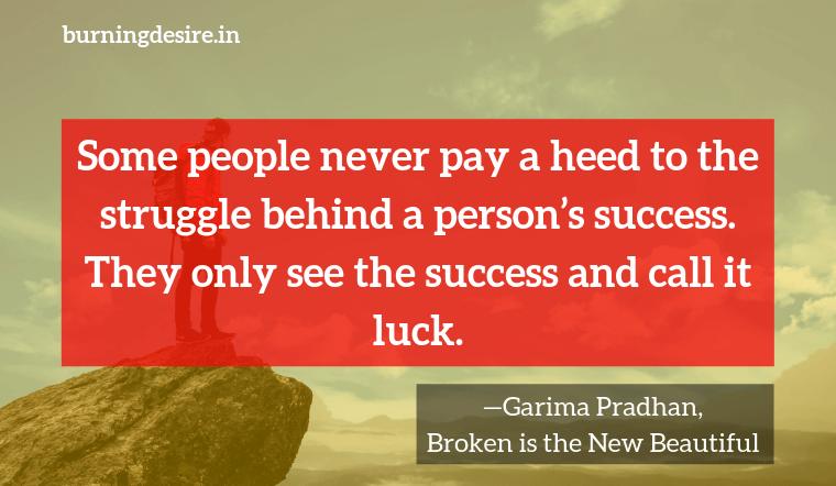 quotes from Garima Pradhan books