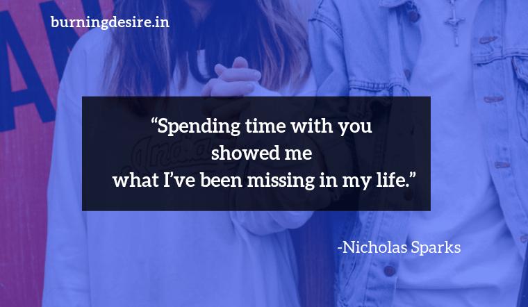 Nicholas Sparks quotes about couple