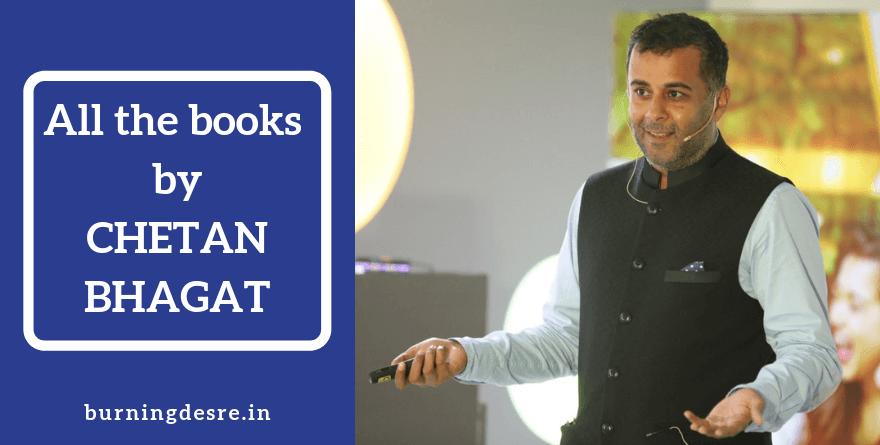 list of chetan Bhagat books