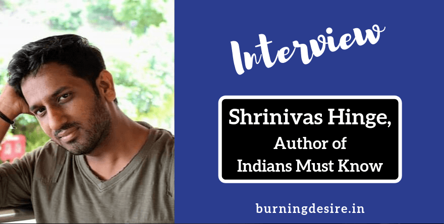 author shrinivas hinge interview