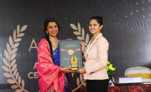 Author Vachaknavi Sarma with Savi Sharma