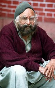 Author Khushwant Singh introduction