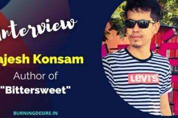 author rajesh konsam interview