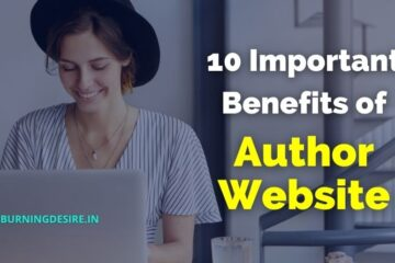 benefits of author website