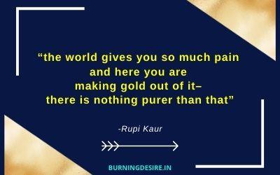 rupi kaur quotes inspirational