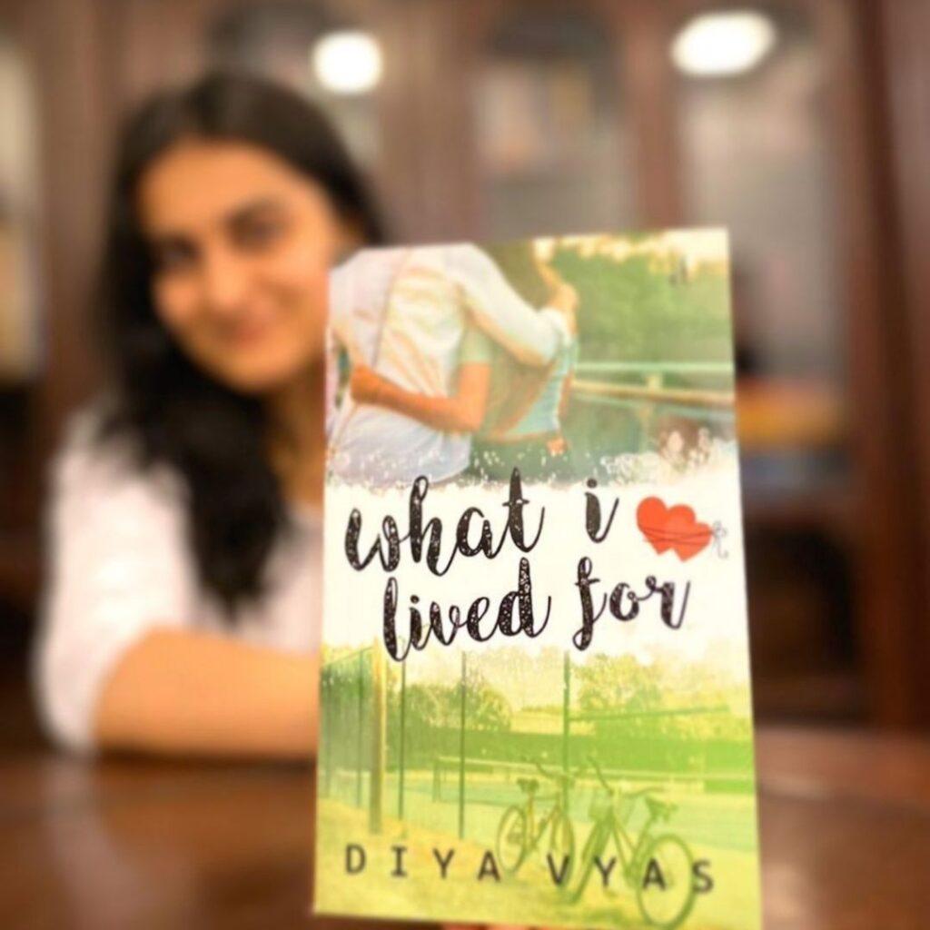 what i lived for book diya vyas