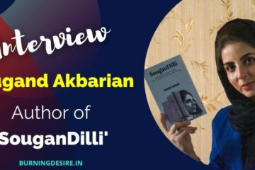 author Sougand Akbarian interview