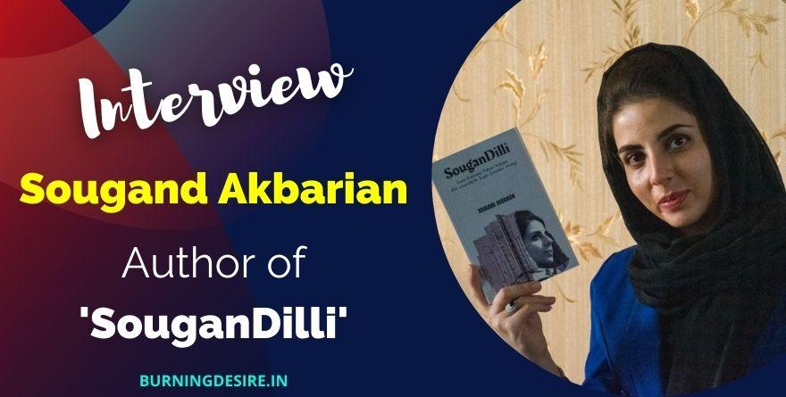author Sougand Akbarian interview