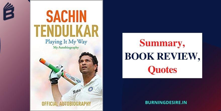 sachin tendulkar autobiography playing it my way