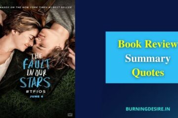 the fault in our stars book review summary