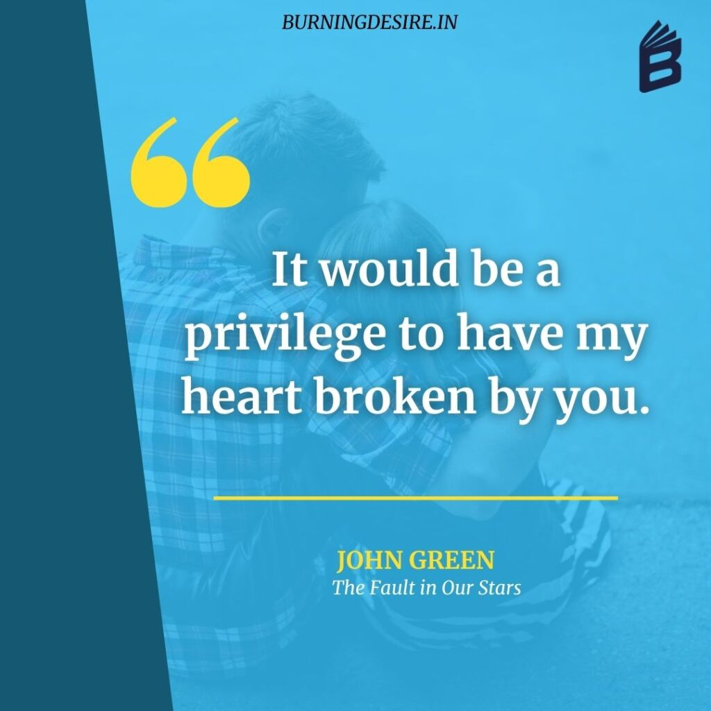 the fault in our stars by john green quotes