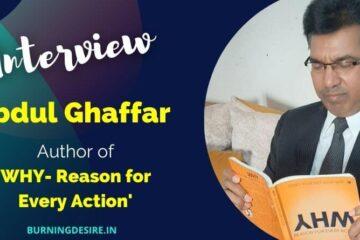 author abdul ghaffar interview