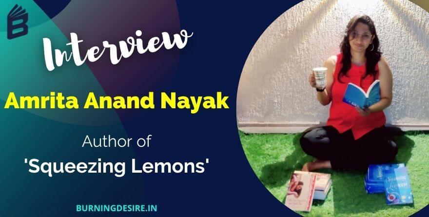 author amrita anand nayak interview