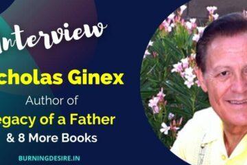 author nicholas ginex interview