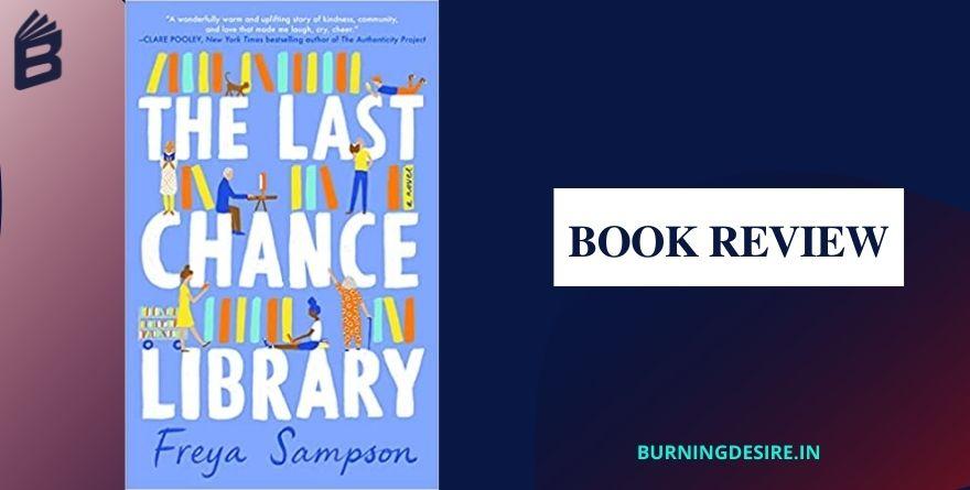 the last chance library Freya Sampson